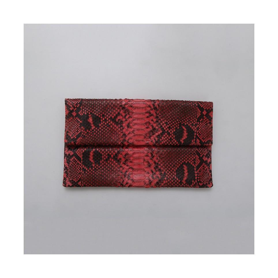 Pochette Clutch Corail avec motif