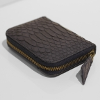 Night Blue Python Small Wallet