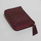 Purple Python Small Wallet