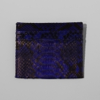 Dark Blue Python Card Holder