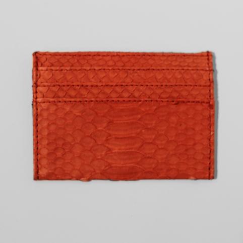 Porte carte en python Orange
