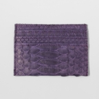 Purple Python Card Holder