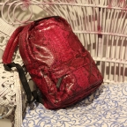 Red Python Backpack