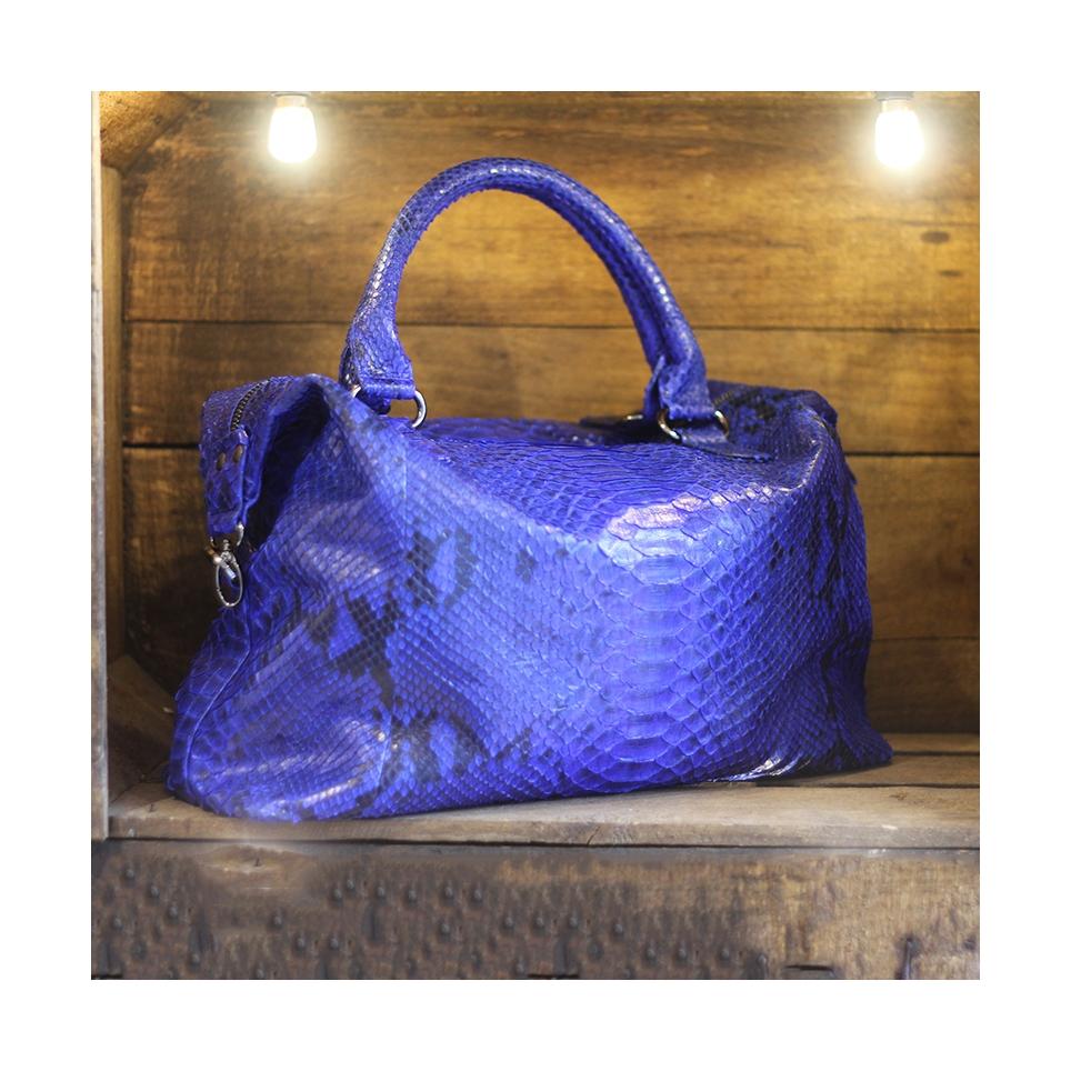 Bowling Bag Bleu Motif