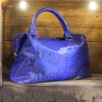 Blue Patterns Bowling Bag