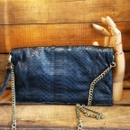 Christine Clutch Bleu