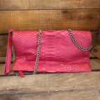 Red Christine Clutch