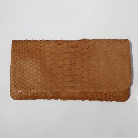 Porte feuille souple couleur Caramel
