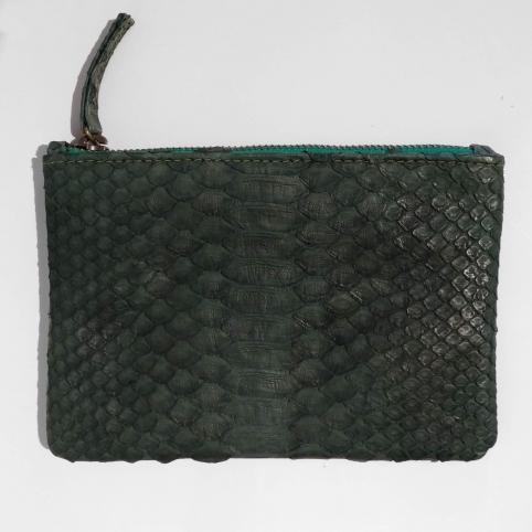 Pochette simple en python Verte