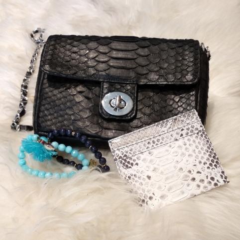 UmaMini Bag python black