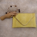 Yellow Large Python Envelope