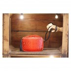 Camera Bag Rouge en Python rouge