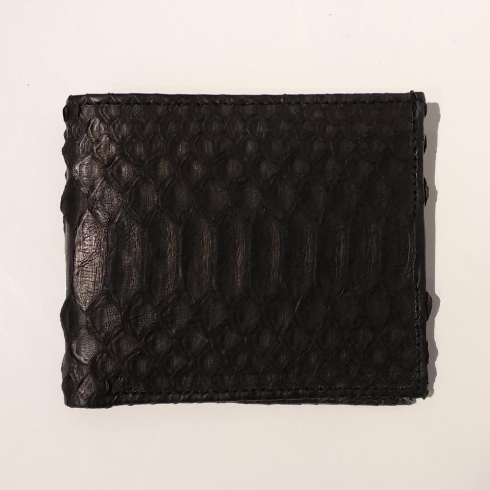 Portefeuilles Pocket en Python Noir