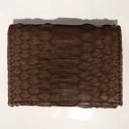 Chocolat Python Card Holder with Coin Storage