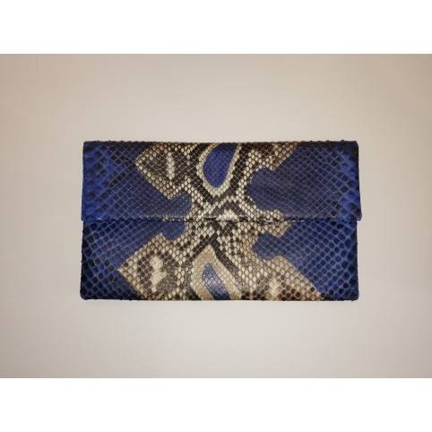 Fushia Patterns Clutch Bag