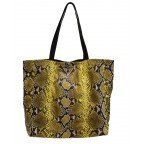Yellow Python Ultra Light Shopping Bag