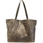 Grey Python Ultra Light Shopping Bag